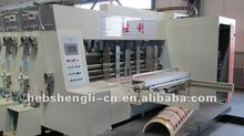 GYK high speed two color corrugated paperboard printer slotter die cutter machine
