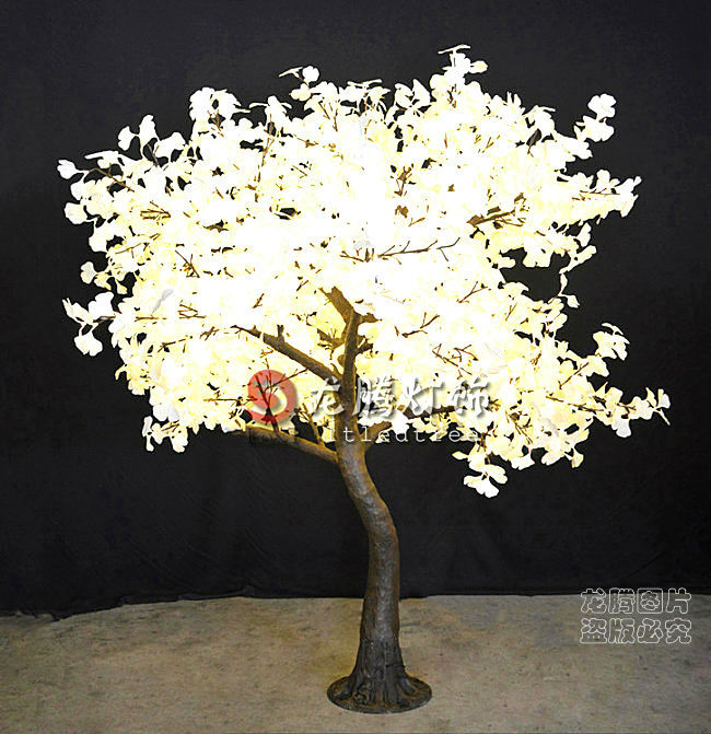 Indoor Outdoor Artificial Gingko Lighted Trees Buy Artifical Lighted Trees