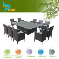 11 Pcs Karachi Modern Turkish Furniture Dining Room / Upscale Dining Room Dining Table and Chair
