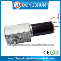 DS-58SW31ZY 58mm 12 volt dc worm gear motor