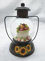 Creative fashionable antique resin snow globe
