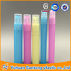 2015 PP Colorful Frosted plastic perfume pen spray bottle easy carry