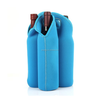 Neoprene Wine 4 Bottles Tote Cooler Bag