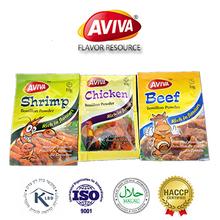 10 G 17 G 100 G caldo de polvo de sabor de pollo BOUILLON polvos para cocinar [ AVIVA polvo ]