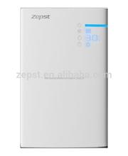 2015 diseño nuevo purificador de aire tipo fino para el hogar purificador de aire ionizador
