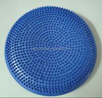 blue colour New inflatable Balance Air massage Disc exercise Cushion