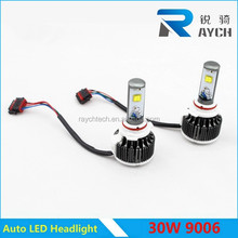 Car led headlight 30W 9006 9005 h4 h7 h11 h8 h9 for aftermarket accessory