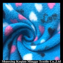 100% polyester printed micro Polar Fleece Fabric