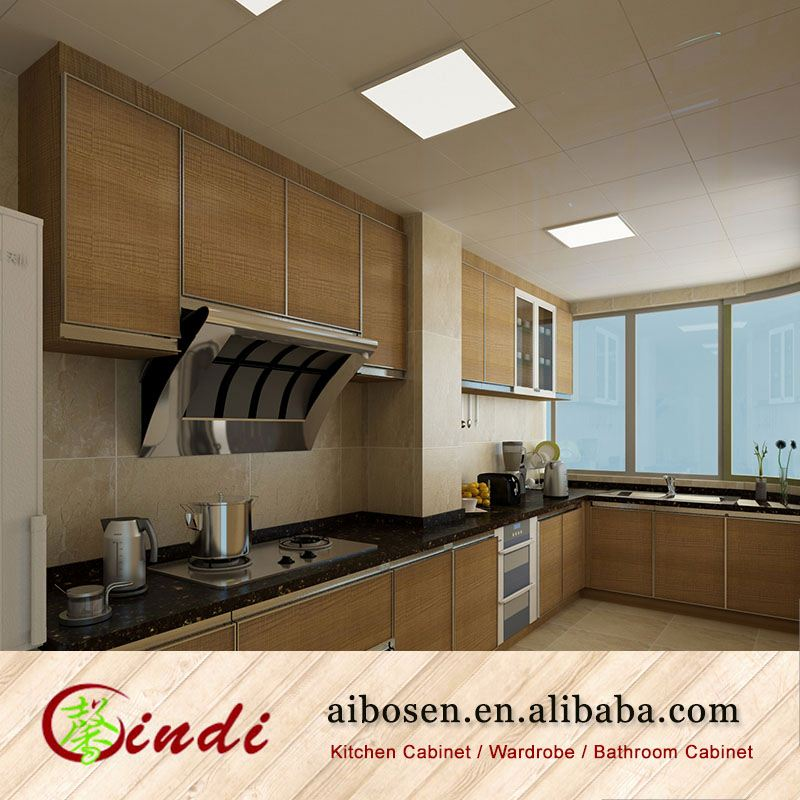 2014 Hot High Quality Project Unfinished Kitchen Cabinets