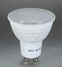 LED SPOT LIGHT GU10 SMD 8W plastc coated aluminum