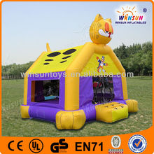 Promotional cat inflatable castle room