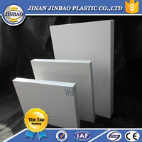 waterproof white plastic pvc sheet bathroom