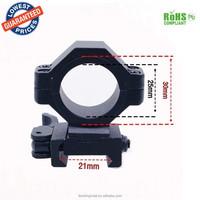 KC001 25mm 30mm Quick Release Mount Bracket for M40 / M16 gun mount for flashlight adjustable scope mount