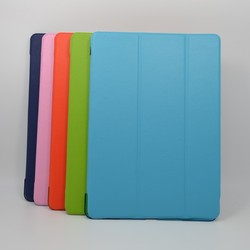New arrive flip leather case for IPAD genuine leather case