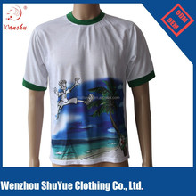 100% polyester personal design t shirt for advertising ,China manufacturer wholesale custom men t shirt