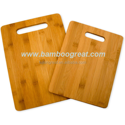 China Supplier Sustanable Rectangle Bamboo Wood Cutting Board