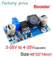 LM2577 DC to DC boost converter module voltage adjustable constant voltage car power regulator DIY Power bank MP3MP4 PSP phone