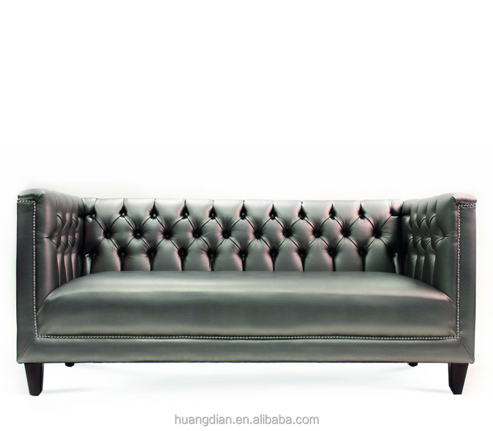 chesterfield modern turkish genuine leather sofa set. Black Bedroom Furniture Sets. Home Design Ideas