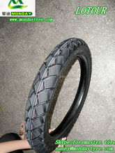 LOTOUR brand size 2.75-17 motorcycle tubeless tyre