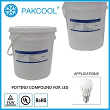 Non-TOXIC highest thermal conductivity silicon compound encapsulant for led