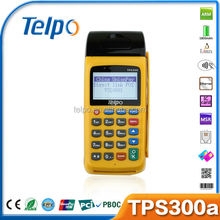 Telpo Wireless credit card POS, credit card POS system, Wireless credit card POS system TPS300a
