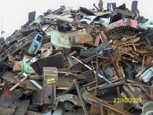 HMS, Used Rail. OA scrap and Shredded 211