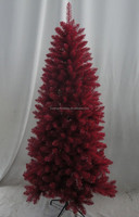 180 cm color christmas tree Red Christmas tree