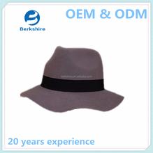 Fashion wool felt hat blank wholesale/felt hillbilly hat/wool felt hat