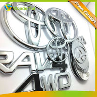 2014wholesale Cheap custom luxury car emblem