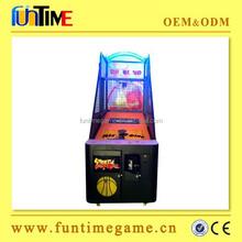 2015 Popular Indoor Games arcade electronic basketball scoring machine
