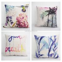 40*40cm square throw funny pillows home sofa decorative plain cushion case custom novel design cushion covers
