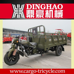 chinese heavy loading gasoline with trailer three wheel cargo motorcycles