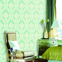 glass beaded wall paper
