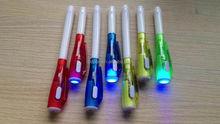 UV light pen / ballpoint pen with UV light / uv invisible ink pen