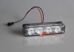 Excellent quality red strobe warning light/ traffic warning light with 4LEDs
