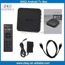 2015 hot selling amlogic S805 mx quad core android tv box