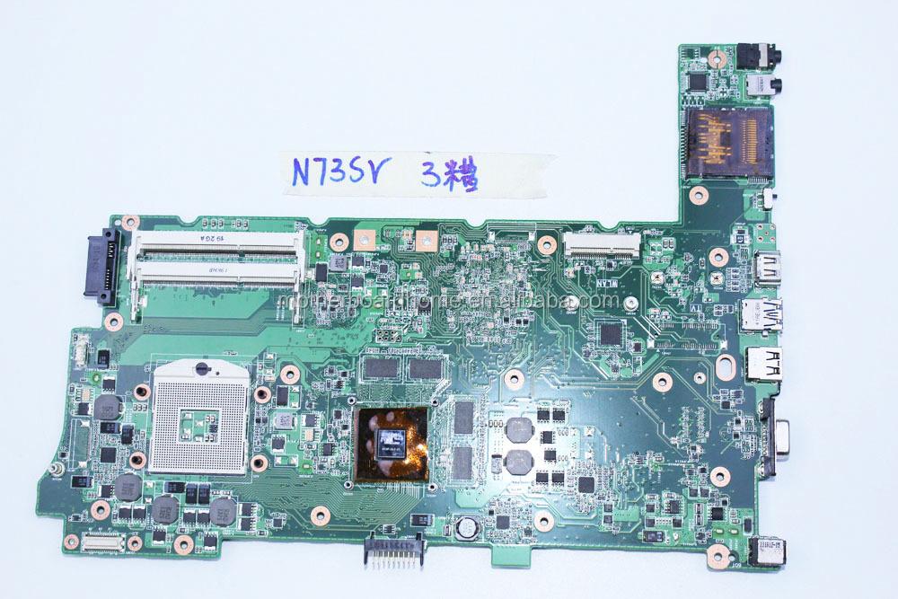 pour asus n73sv n73s n73sm ordinateur portable carte m re rev 2 0 gt 540 m ou gt 630 m 3. Black Bedroom Furniture Sets. Home Design Ideas
