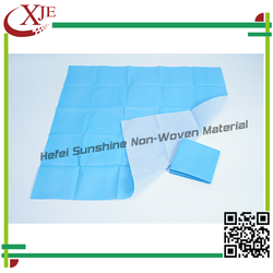 Made In China Disposable Nonwoven Draw Sheet Cover/Drape Sheet Used In Hotel/Hospital