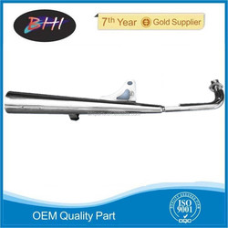 muffler motorcycle for vespa px spare parts