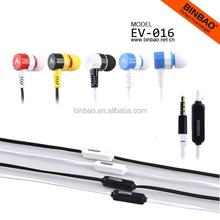 2015 popular colorful earphone package for Samsung Galaxy s6 iphone6 earbuds earphone headphone