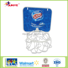 Basketball set adjustable hoop and board