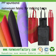 Making bags tnt pp spunbonded non woven fabric