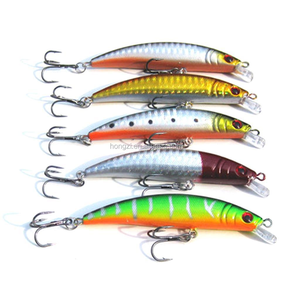 Fashion Cool Plastic Fishing Lures Fishing Bait Minnow