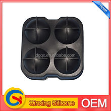 Newest special colorful smile silicone ice cube tray