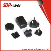 SDPower USB exchangable plug adapter 6w