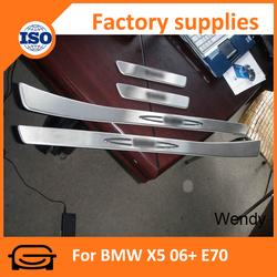 Car door sill guards door sill footstep for BMW X5 06+ E70 door sill guards
