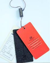 Professional decorative embossed leather tag