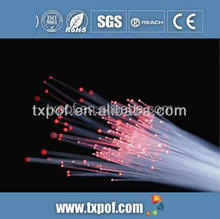 PMMA plastic optical fiber for decoration and illumination with Low Attenuation and High Brightness