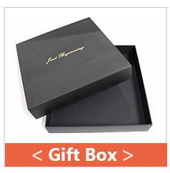 Logotipo personalizado caixas de presente de papelão flip top