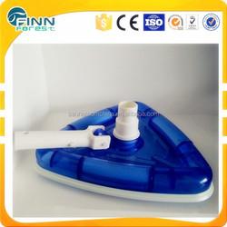swimming pool liner vacuum head,triangular transparent vacuum cleaner with swivel